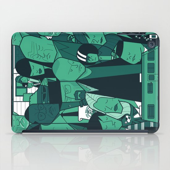Breaking Bad (green version) iPad Case
