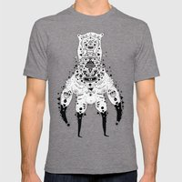 Crab Man Mens Fitted Tee Tri-Grey SMALL