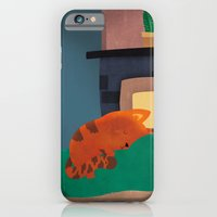 iPhone & iPod Case featuring A Nice Winter Snooze In Front Of The Fire by Claire Stamper