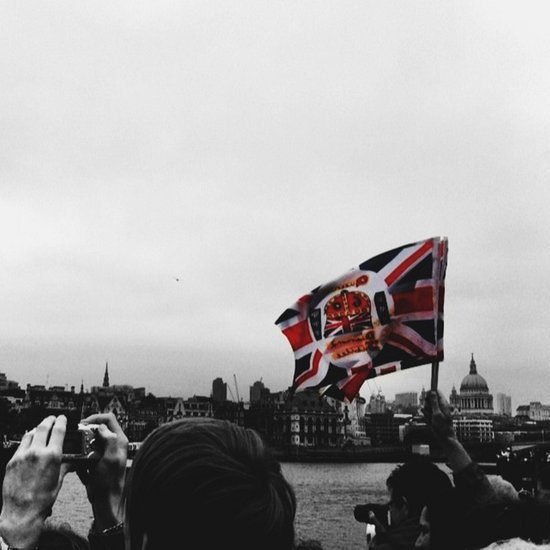 Jubilee Flag Art Print