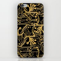 Techno Organic  iPhone & iPod Skin