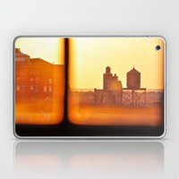 Fire Outside The Window Laptop & iPad Skin