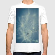 Dreaming White SMALL Mens Fitted Tee