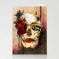 skull3 Stationery Cards
