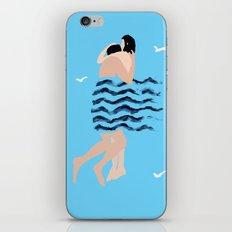 breaking the waves iPhone & iPod Skin