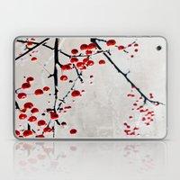 Red Splash Laptop & iPad Skin