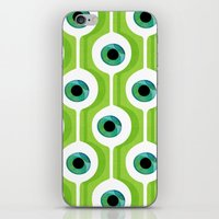 Eye Pod Green iPhone & iPod Skin