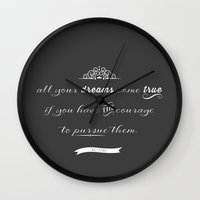 All Your Dreams Wall Clock