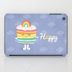 Happy Rainbow Cake iPad Case