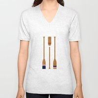 American Painted Oars Unisex V-Neck
