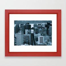 Market Street Framed Art Print