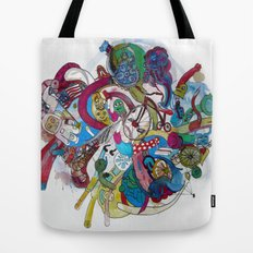 Moon Trike City Tote Bag
