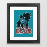 Kong Of The Dead Framed Art Print