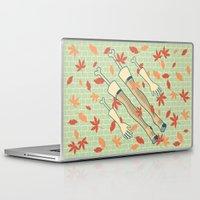 fall Laptop & iPad Skins featuring fall by freshinkstain