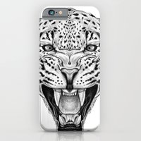 iPhone & iPod Case featuring Leopard by Libby Watkins Illustration