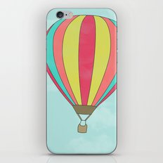 IT'S TIME TO EXPLORE- HOT AIR BALLOON iPhone & iPod Skin