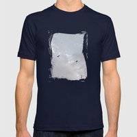Together Higher Mens Fitted Tee Navy SMALL