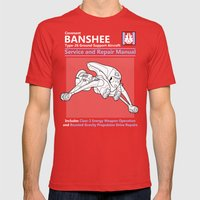 Banshee Service And Repa… Mens Fitted Tee Red SMALL