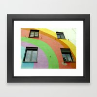 Tirana Bright City Framed Art Print