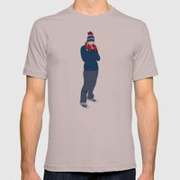 Glühwein Mens Fitted Tee Cinder SMALL