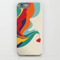 iPhone Cases featuring Love Message by Budi Kwan
