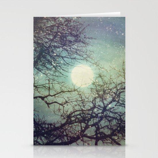 Winter Eve Stationery Card