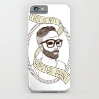 iPhone & iPod Case featuring This Is Not A Hipster Print by SHIFFA