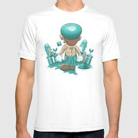 It's a Plumber's Hard Life! Mens Fitted Tee White SMALL