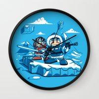 Hoth Climbers Wall Clock