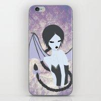 Demon Girl iPhone & iPod Skin