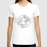 dog T-shirts featuring Dog Eat Dog by Andrew Henry