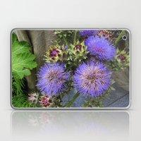 Purple Blooms Laptop & iPad Skin