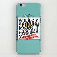 Wakey Wakey Eggs and Bakey iPhone & iPod Skin