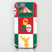 iPhone & iPod Case featuring Mexico City by Arts and Herbs