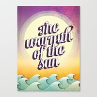 The Warmth of the Sun Canvas Print