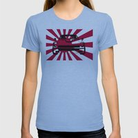 240Z - Rising Sun Womens Fitted Tee Athletic Blue SMALL