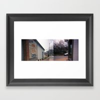 Walk On Broadway 2 Framed Art Print
