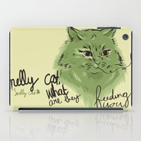 Smelly cat iPad Case