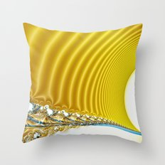 postcard from venus Throw Pillow
