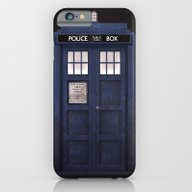 iPhone & iPod Case featuring Tardis Front by D.N.A.