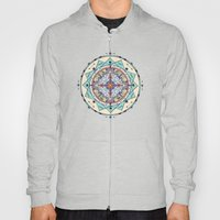 Time and Light Native Shapes Mandala Hoody