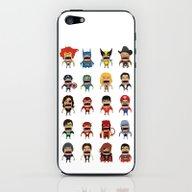 Screaming Heroes iPhone & iPod Skin