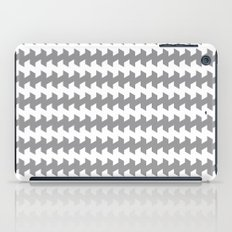 jaggered and staggered in alloy iPad Case