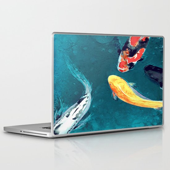 Water Ballet Laptop & iPad Skin