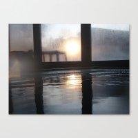 Sun Through The Window Canvas Print