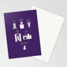 Common Commands Stationery Cards
