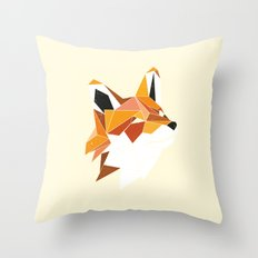 Faux Renard Throw Pillow