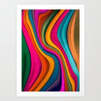 Lov Colors Art Print