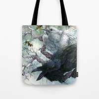 Thought And Memory Tote Bag