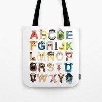 Muppet Alphabet Tote Bag